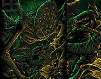 amygadala artwork for findtees.com