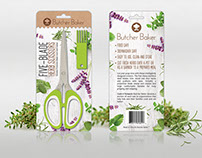 Herb scissors packaging