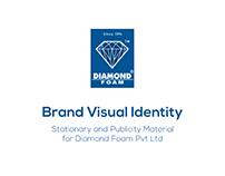 Brand Visual Identity Design   Diamond Foam Pakistan