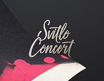 Svitlo Concert: логотип, афиши и сайт
