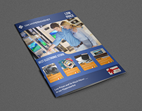 Electronics Products Catalog Brochure - 12 Pages