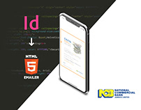 Indesign to HTML Emailer Conversion