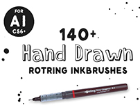 Rotring Ink Brushes
