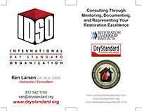 Business Card Redesign: IDSO