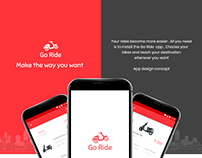 Android : Go Ride App