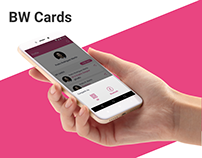 BW Cards - No more paper business cards