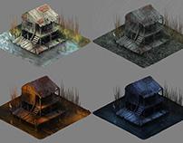 Swamp House variations