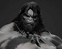 Barbarian version by D'sculpt studio