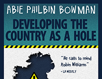 Abie Philbin Bowman - Comedy Gig Poster