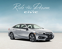 Ride The Dream with the All-New Honda Civic