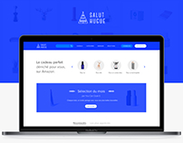 Salut Hugue - UX/UI design website