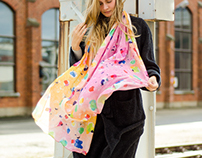 VIDA - Scarf/textile design