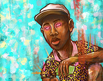 Tyler the Creator illustrations