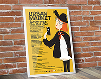 URBAN MARKET POSTER - 2014