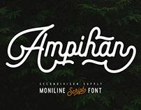 Ampihan script Font