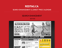 RedTag.ca Search & Lowest Price Calendar