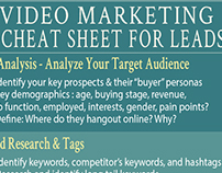 Video Marketing Inforgraphic CTA