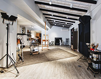 Loft - atelier studio refurbishment