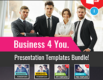 B4U - Powerpoint Templates BUNDLE