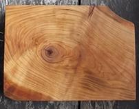 Chopping board of Cherrywood