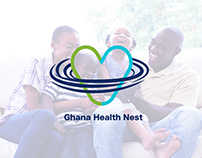 Ghana Health Nest - Concept branding (GHN)