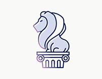 Lion's Sculpture Logo