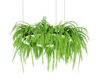 3dmodel Chandelier with paportonic