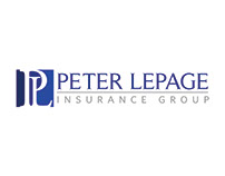 Peter Lepage Insurance Group Logo Design
