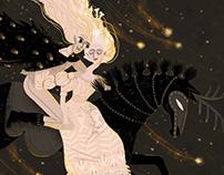 Folktale Week Illustrations - The story of Árgirus