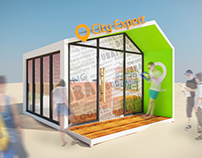 City Expert Outdoor Kiosk @JBR 2016