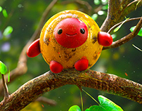 Cute Creature 3d Zbrush Oscar creativo