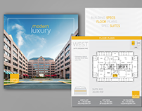Branded Brochure Design with Inserts