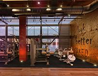 25 Degree Gym  Interior Design.