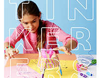 TINKERERS - creative spaces for kids