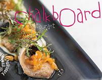 Chalkboard Restaurant brochure