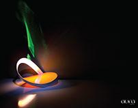 AURA the radiant lamp