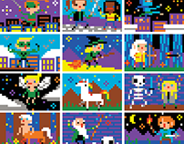 Fleurus - Coloriages pixels