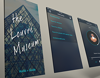 Mobile app Louvre Audio+Guide