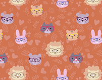 Myopic animals pattern