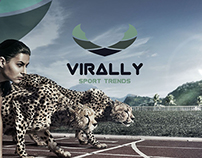 Virally Sports Trends - Logo For Sale