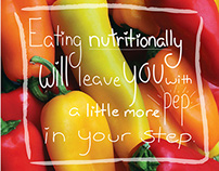 Healthy Eating Campaign Posters