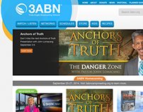 3abn.org Website Redesign (2014)