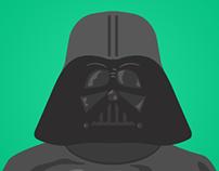 Ilustração e newsletter - Vader