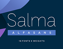 SALMA - FREE SANS SERIF FONT