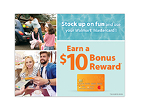 Walmart - Summer World Spend Mailer