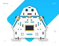 Boteon - landing page