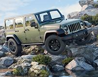 A Jeep in its natural habitat