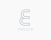 E NATURE Brand Identity