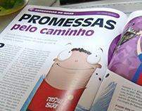 Ilustração Editorial - Revista