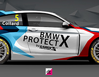 WSR BMW Racing BTCC Livery Proposals.